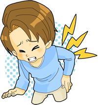 交通事故による腰痛・ギックリ腰